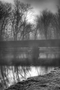 Fog Black and White by Elizabeth Christjansen in Hoosier Writers 2012